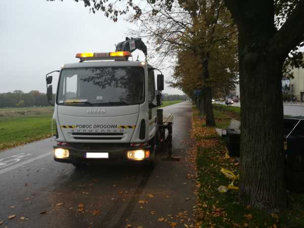 IMG 20171011 074041 600x450 - Modernizacja oświetlenia na terenie Miasta Krakowa. - koparka kraków