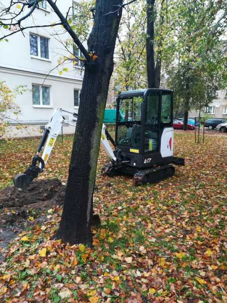 IMG 20171023 110632 450x600 - Modernizacja oświetlenia na terenie Miasta Krakowa. - koparka kraków