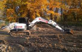 1 272x172 - Przygotowanie terenu pod nową inwestycję przy ul. Trockiego - koparka kraków