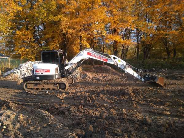 1 1 600x450 - Przygotowanie terenu pod nową inwestycję przy ul. Trockiego - koparka kraków